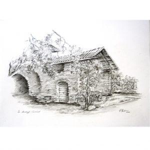 hildegard pfeifle altensteig malerin montiggl südtirol tirol bleistiftzeichnung schwarz weiß