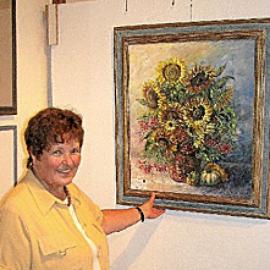 hildegard pfeifle altensteig malerin blumen aquarell stilleben